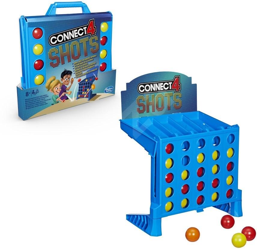Connect 4 Shots társasjáték