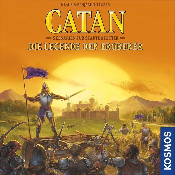 Catan A hódítók legendája társasjáték