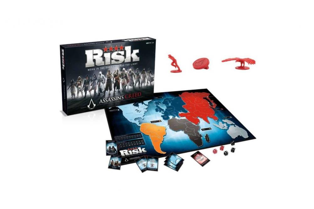 Rizikó Assassins Creed társasjáték