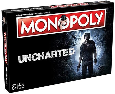 Monopoly Uncharted társasjáték