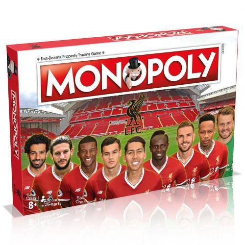 Monopoly Liverpool Fc társasjáték