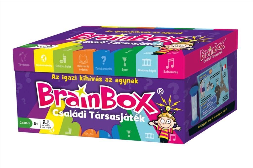 BrainBox Quiz társasjáték