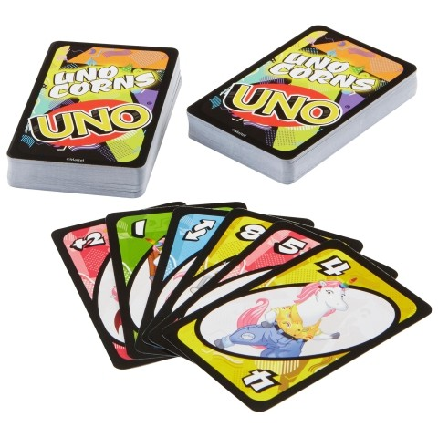 Uno-kornis kártya