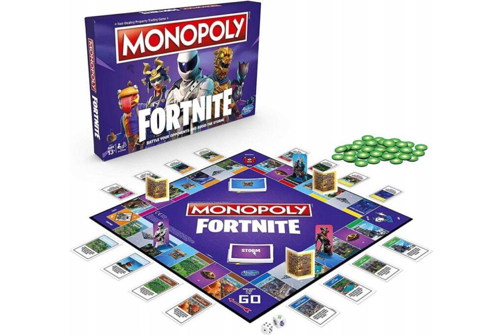 Monopoly Fortnite társasjáték